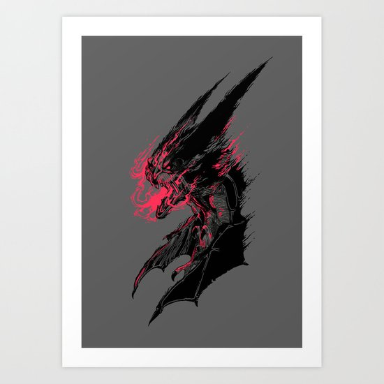 Bat Out of Hell Art Print