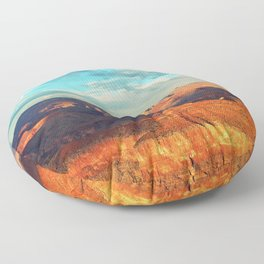 Grand Canyon - National Park, USA, America Floor Pillow