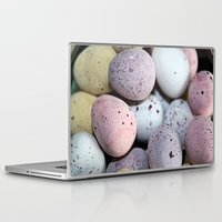 eggs Laptop & iPad Skins featuring Eggs! by Sara Messenger