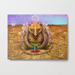 The bear quest Metal Print