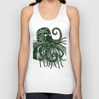 cthulhu Tank Tops featuring Cthulhu by Hinterlund
