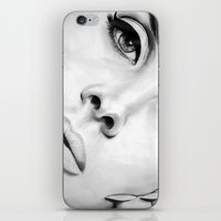 lana iPhone & iPod Skins featuring Lana by Tiffany Posey