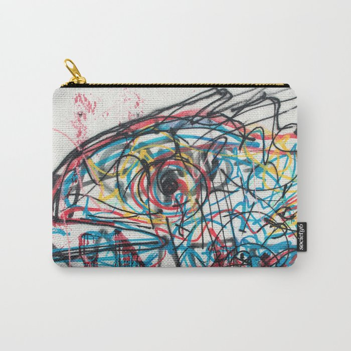 Eye 2 colour Carry-All Pouch