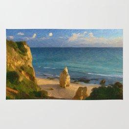 Praia da Rocha rock Rug