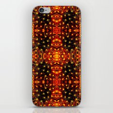 Red Yellow Sparkling Pattern iPhone & iPod Skin
