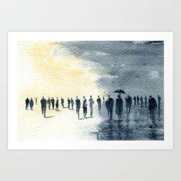 Changeable Weather Art Print