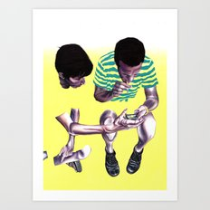 Fade. Art Print
