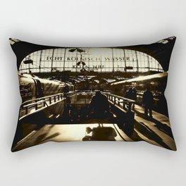 Railway Station Cologne (monochrom) Rectangular Pillow