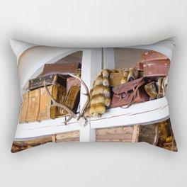 Mountain chalet Rectangular Pillow