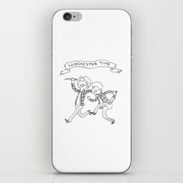 Winchester Time! iPhone Skin