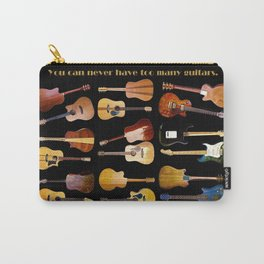 Guitars Galore Carry-All Pouch