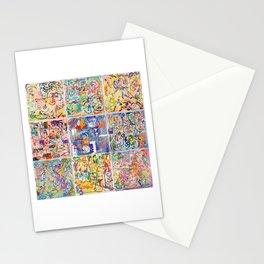Shamanic Painting 1-9 Stationery Cards