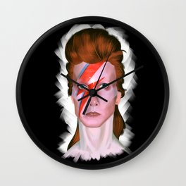 The Man Who Sold The World Wall Clock