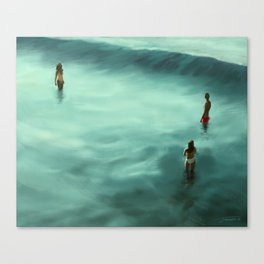 Low Tide - 2015 Canvas Print