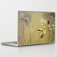 elmo Laptop & iPad Skins featuring Life in the Meadow by Kimberley Britt