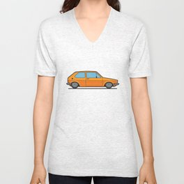#19 Volkswagen Golf Unisex V-Neck