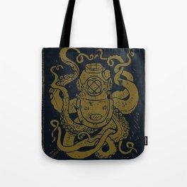 Mark V Octopus - gold Tote Bag