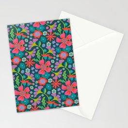 POP FLORAL Pattern Stationery Cards