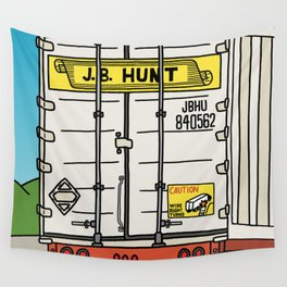 J.B. Hunt Wall Tapestry