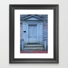 Stay or not stay... out Framed Art Print