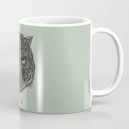 Warrior Owl Face Coffee Mug