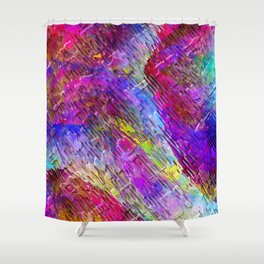 Abstract Water Lights Shower Curtain