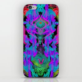 Jellyfish Warp iPhone Skin