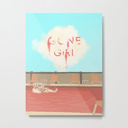 Gone Girl Red Version Metal Print