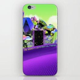 Seeking & Finding Self - Crystal Desert Portal iPhone Skin