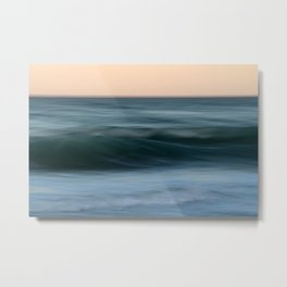 Dialogue with the Sea Metal Print