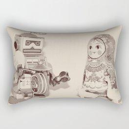 be mine - valentine Rectangular Pillow
