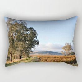 Barossa Valley Autumn Sunshine Rectangular Pillow