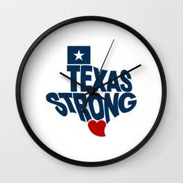 Texas Strong Wall Clock