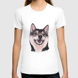 Smiling Shiba Inu T-shirt