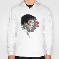 johnlock Hoodies featuring Johnlock by Cécile Pellerin