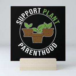 Houseplant Plant Lover Flower Gardener Pot Mini Art Print