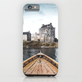 The Boat and the Castle-Scotland iPhone Case