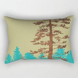 doug fir Rectangular Pillow