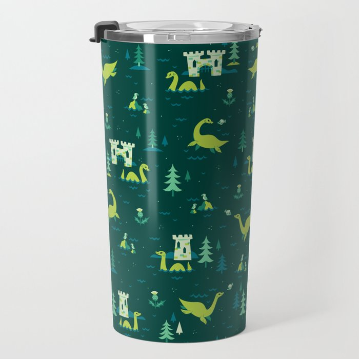 Cryptid Cuties: The Lochness Monster Travel Mug