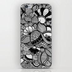 Doodling Florals  iPhone & iPod Skin
