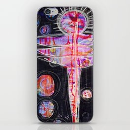 Love is a state of mind iPhone Skin