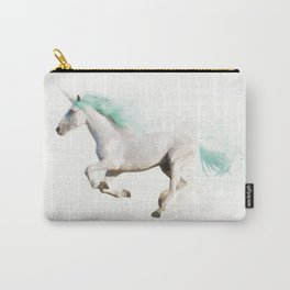 Hello Unicorn Carry-All Pouch