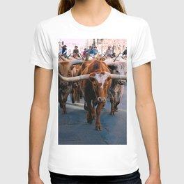 Denver National Western Stock Show Kick-of Parade 2018 T-shirt