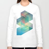 labyrinth Long Sleeve T-shirts featuring Labyrinth by Crop Collective