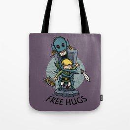Legend of Zelda Wind Waker FREE HUGS T-Shirt Tote Bag