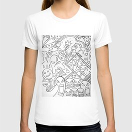 Mirror Images Of Self Reflections T-shirt
