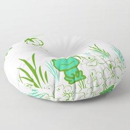 Pete the frog Floor Pillow