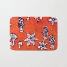 mushroom batik Bath Mat