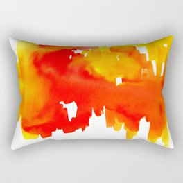 Reflections of the City Rectangular Pillow
