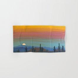 Arizona Moonrise Hand & Bath Towel